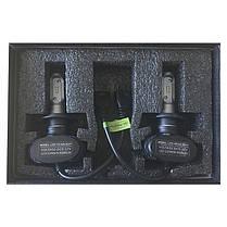 LED светодиодные лампы для авто S1 H7, комплект автомобильных светодиодных ламп (без радиатора), фото 3