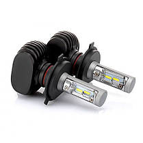 LED светодиодные лампы для авто S1 H4, комплект автомобильных светодиодных ламп (без радиатора), фото 3
