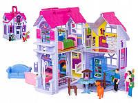 ✅Домик для кукол F611 с фигурками и мебелью