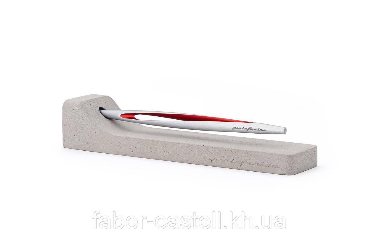 Вечный карандаш Pininfarina Aero Red, корпус аэрокосмический алюминий с отделкой красного цвета