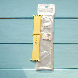 Ремешок Apple Watch 38mm M/L silicone Lemonade