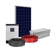 Автономна сонячна електростанція на 2 квт