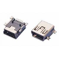 Разъем Mini USB 5 pin SMD