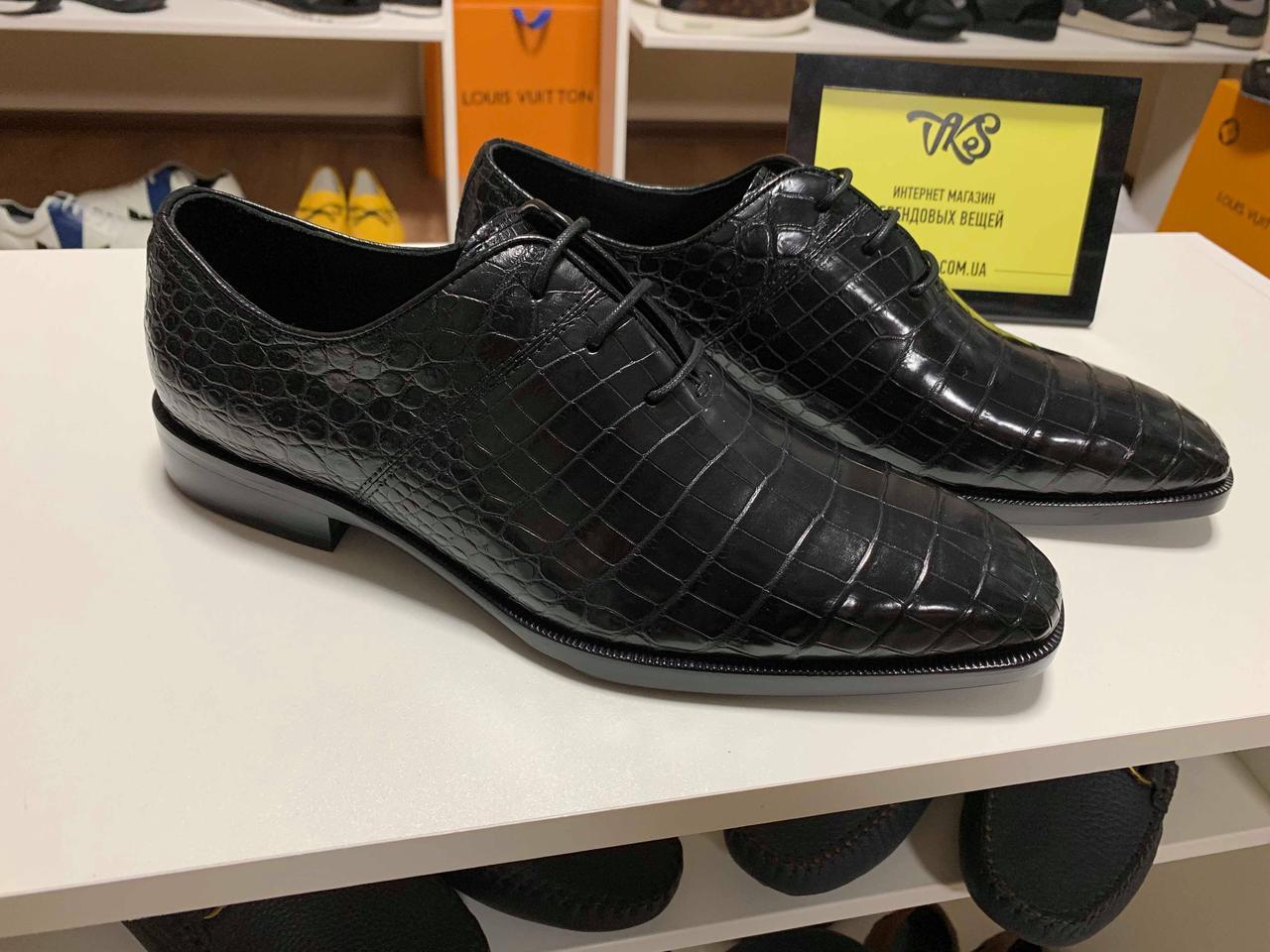 Туфли Berluti кожа крокодила