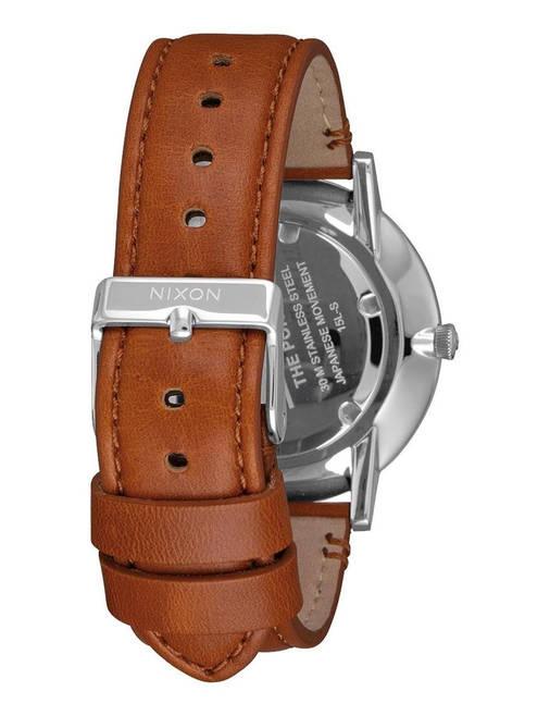 Чоловічий годинник Nixon Porter Leather, фото 2