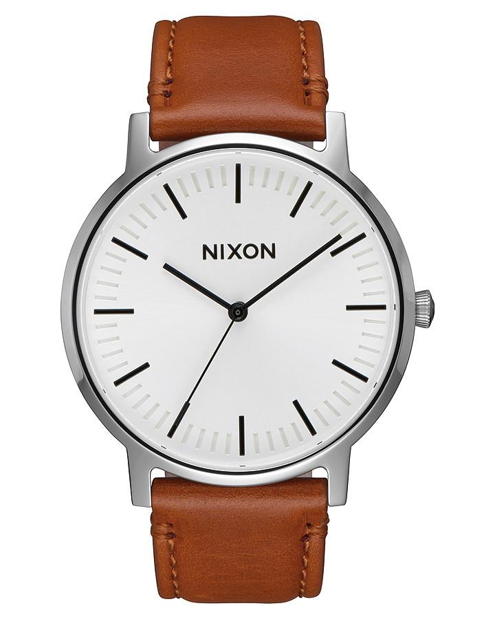 Чоловічий годинник Nixon Porter Leather