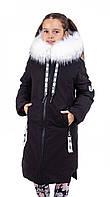 Куртки зимние для девочек  от производителя   38-44 черный
