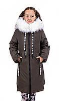 Куртки зимние для девочек  от производителя   38-44 хаки