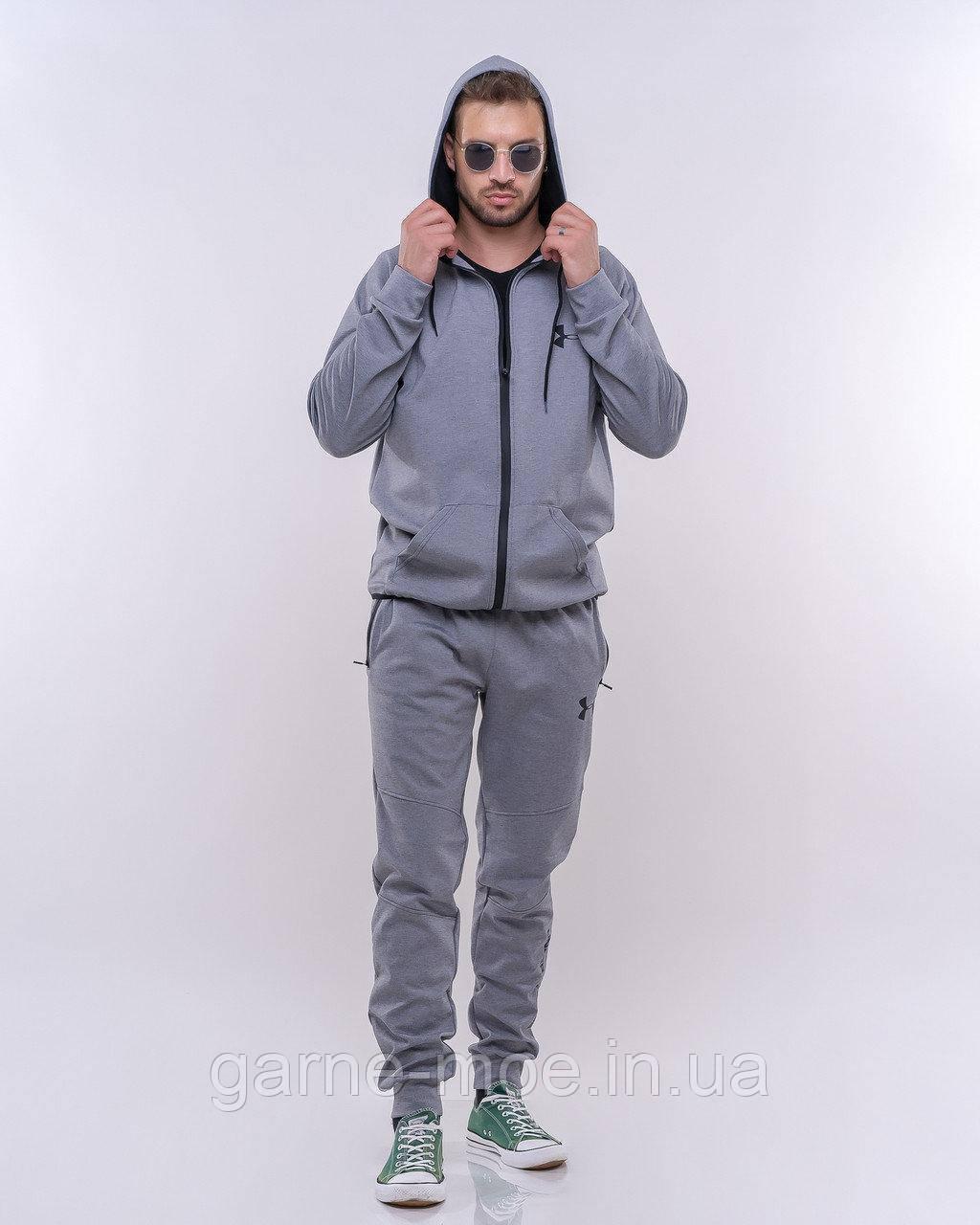 РУ11232 Мужской  термо спортивный костюм UNDER ARMOUR
