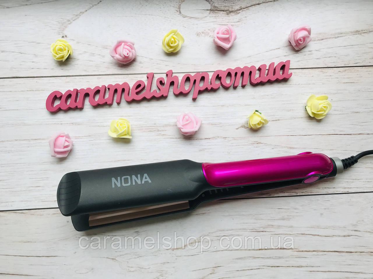 Плойка ГОФРЕ утюжок для волос  с керамическим покрытием Nona SY - 6505