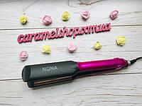 Плойка ГОФРЕ утюжок для волос  с керамическим покрытием Nona SY - 6505, фото 1