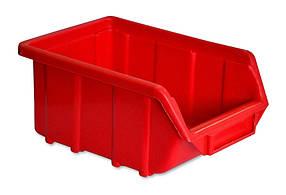 Ящик для мастерской Technics красный 170 х 115 х 75 мм (52-596)