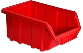 Ящик для мастерской Technics красный 250 х 160 х 130 мм (52-597)