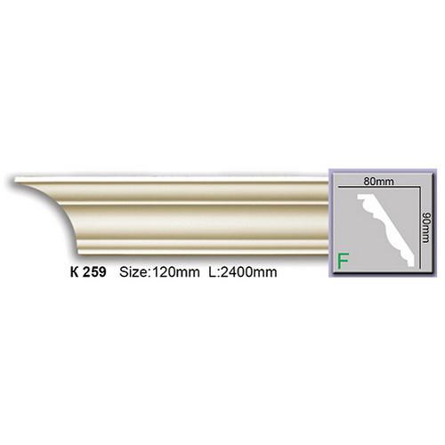 Карниз Harmony K259 (90x80)мм