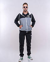 РУ11231 Мужской  утепленный спортивный костюм THE NORTH FACE