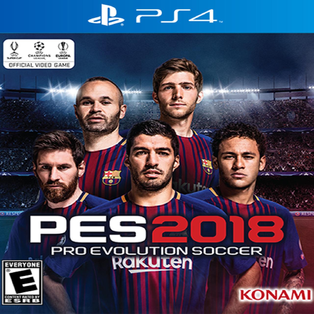 PES 2018 RUS PS4 (NEW)