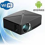 Проектор мультимедийный с Wi-Fi, Android кинопроектор Wi-light C80 Проектор для дома Оригинал, фото 2
