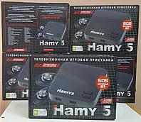 Игровая приставка HAMY5 Dendy+Sega встроенных 505 уникальных игр поддержка SD карты