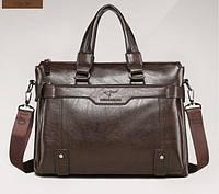 Стильная сумка-портфель KANGAROO (под формат А4). Сумка для документов, сумка-портфель через плечо.