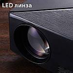 Проектор мультимедийный с Wi-Fi, Android кинопроектор Wi-light C80 Проектор для дома Оригинал, фото 5