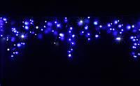 Уличная светодиодная гирлянда бахрома Lumion Icicle Light (20443-DE) 90 led  наружная синий с мерцанием