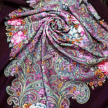 Мечты о счастье 1665-8, павлопосадский платок шерстяной с шелковой бахромой, фото 8
