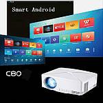 Проектор мультимедийный с Wi-Fi, Android кинопроектор Wi-light C80 Проектор для дома Оригинал, фото 4