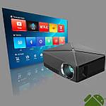 Проектор мультимедийный с Wi-Fi, Android кинопроектор Wi-light C80 Проектор для дома Оригинал, фото 8