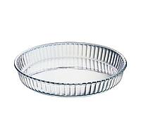 Форма для выпекания из жаропрочного стекла d-26см h-5см