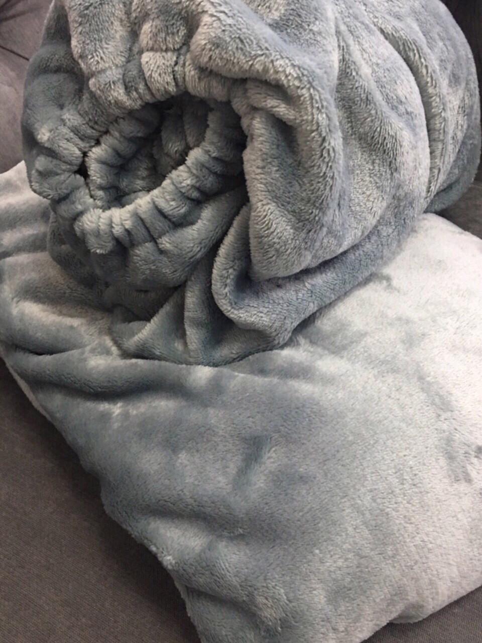 Комплект чехол на кушетку и плед, серебро