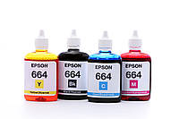 Epson L364 (epson_4x100_48) Комплект чернил для EPSON (664) B/C/M/Y INCOLOR (4х100 мл)