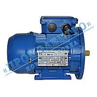 Электродвигатель трехфазный АИР 63A6 0,18кВт 1000об/мин (IM 2081) Лапа+фланец
