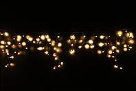 Уличная светодиодная гирлянда бахрома Lumion Icicle Light (Айсикл лайт) 120 led  наружная цвет белый теплый