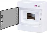 Щит розподільчий зовнішній ETI ECT 8 PT на 8 модулів