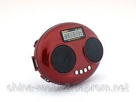 Kipo KB-815 2W стерео колонка, FM MP3, красная, фото 2