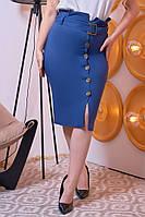 Женская модная юбка  НШ023 (бат)