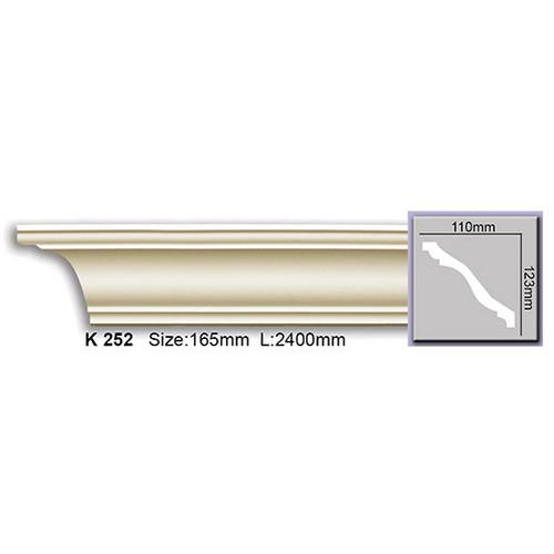 Карниз Harmony K252 (123x110)мм