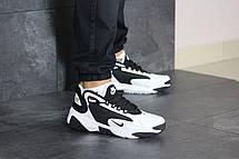Чоловічі кросівки Nike Zoom 2K,чорно-білі, фото 3