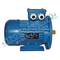 Электродвигатель трехфазный АИР 63B6 0,25кВт 1000об/мин (IM 2081) Лапа+фланец