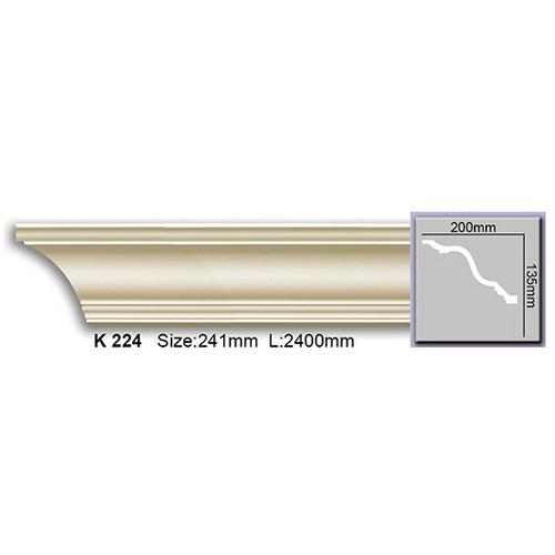 Карниз Harmony K224 (135x200)мм