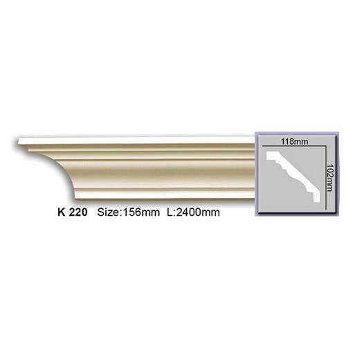 Карниз Harmony K220 (102x118)мм