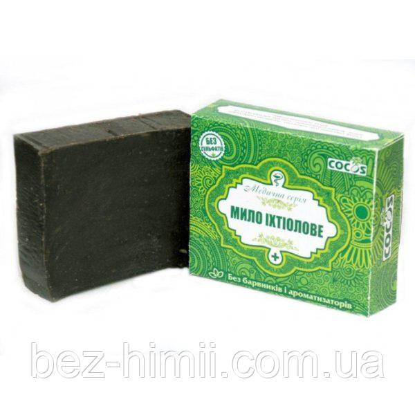 Натуральное мыло-шампунь ихтиоловое