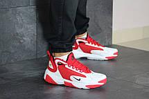 Мужские кроссовки Nike Zoom 2K,красные с белым, фото 3