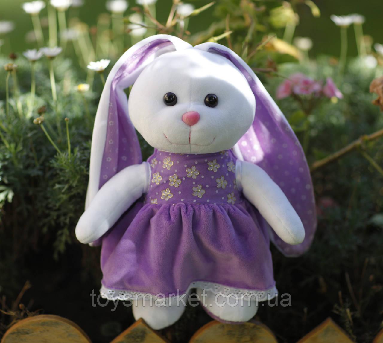 """Мягкая игрушка зайка """"Принцесса"""", плюшевая игрушка заяц, игрушка зайчик"""