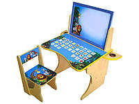 Комплект Мадагаскар Baby Elit (парта,стульчик,этажерка).