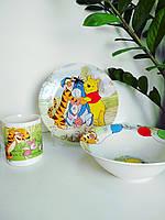 Детский набор керамической посуды Винни Пух