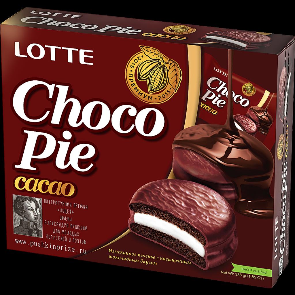 Печенье Choco Pie Cacao 336 g Упаковка 12 штук