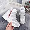 Кроссовки женские Dressy белые 6348 деми