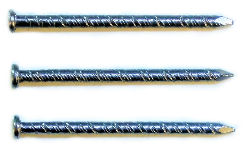 Гвозди(винтовые)  КВО-25(диаметр 1,9мм.)
