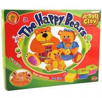 Набор для лепки Семейка веселых мишек Оранжевый слон